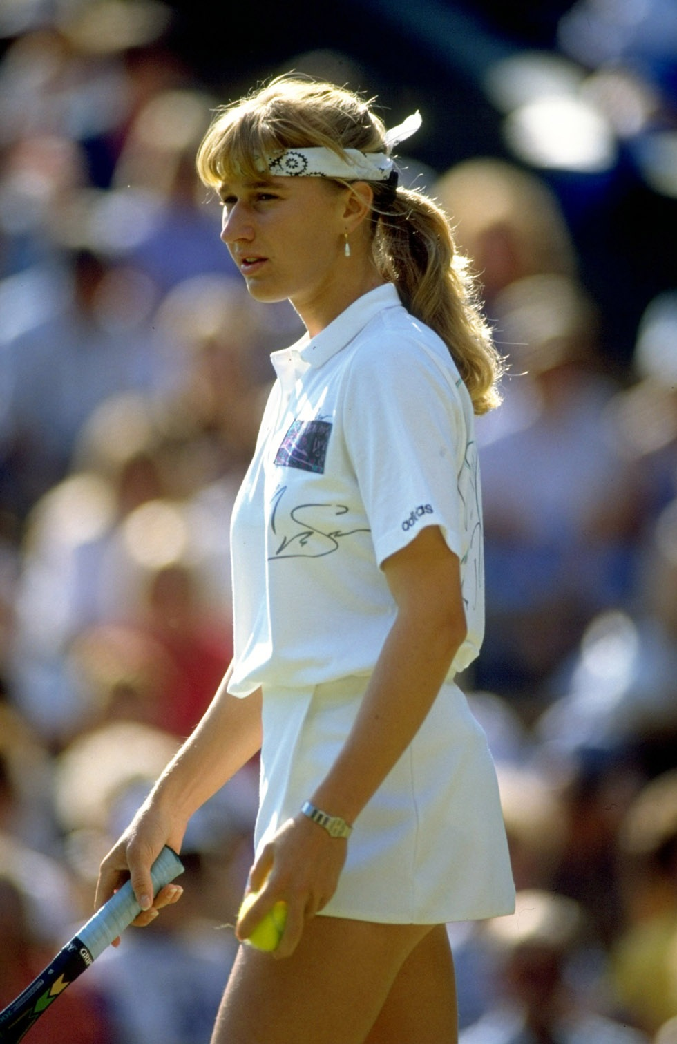 Young Steffi Graf More information qareefo